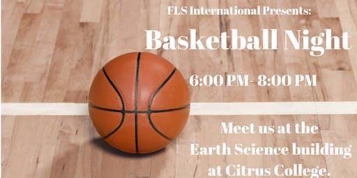 FLS INTERNATIONAL PRESENTS: BASKETBALL NIGHT!