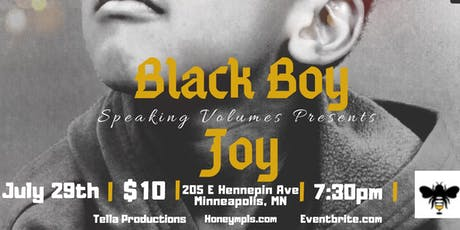 Speaking Volumes - Black Boy Joy tickets