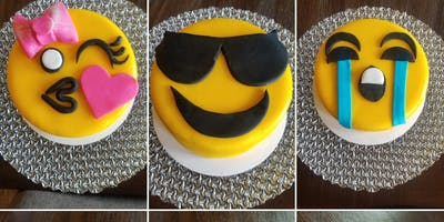 Cake Decorating Class: Tweens Emoji Cake Class at Fran's Cake and Candy Supplies
