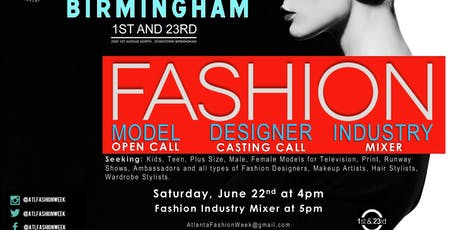 Fashion Week Designer & Model Casting  tickets