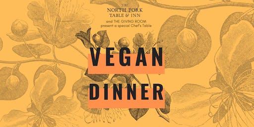 North Fork Table Vegan Dinner