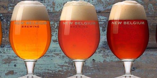 New Belgium Brewery Tasting