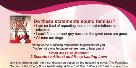 From Mess to Magnet: 5 Secrets to Attract and Keep Lasting Love - Tampa tickets