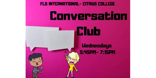 FLS INTERNATIONAL CONVERSATION CLUB!