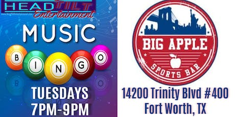 Music Bingo at Big Apple Cafe - Fort Worth, TX tickets
