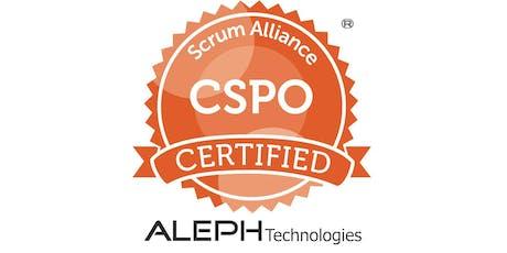 Certified Scrum Product Owner® Workshop (CSPO®) – Atlanta, GA tickets