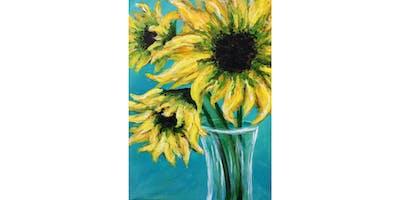 8/21 - Yellow Sunflowers @ Bluewater Distilling, Everett
