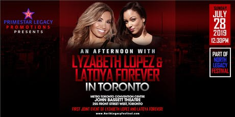 An Afternoon With Lyzabeth Lopez & LaToya Forever tickets