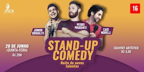 Noite de novos talentos | Stand-up Comedy no JACK PUB bilhetes