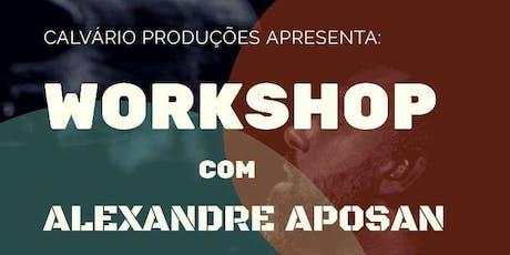 Workshop de Bateria com Alexandre Aposan ingressos