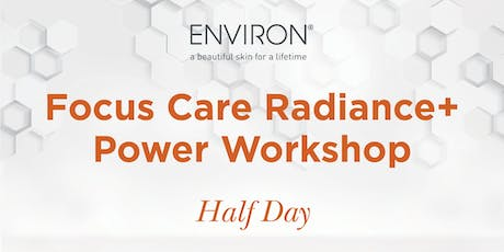 QLD Environ - Power of Skincare – Focus Care Radiance + Power Workshop tickets