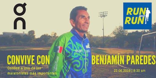 Entrenamiento con Benjamín Paredes