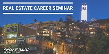 June 25th 2019 Residential Real Estate Career Seminar tickets