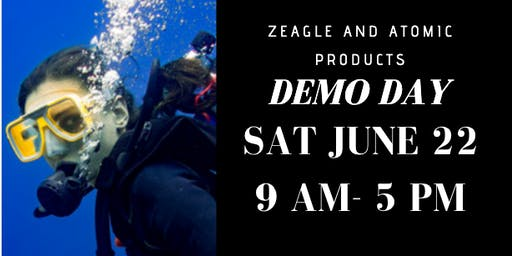 ZEAGLE AND ATOMIC SCUBA DEMO DAY