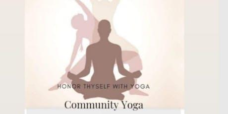 Community Yoga with Eternal Yoga  tickets