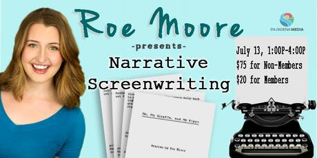 Narrative Screenwriting Bootcamp tickets