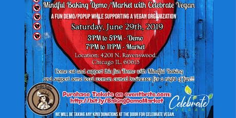 Baking Demo and Mini Market at Mindful Baking tickets