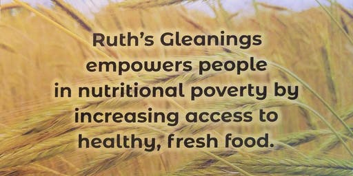 Ruth's Gleanings: Come to the Table Benefit Luncheon