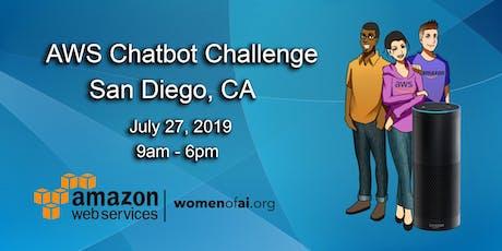 AWS Chatbot Challenge - San Diego, CA tickets