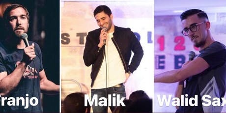 Le Red Comedy Best of (Malik/Walid Sax/Franjo) billets