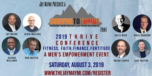 2019 MEN'S THRIVE CONFERENCE