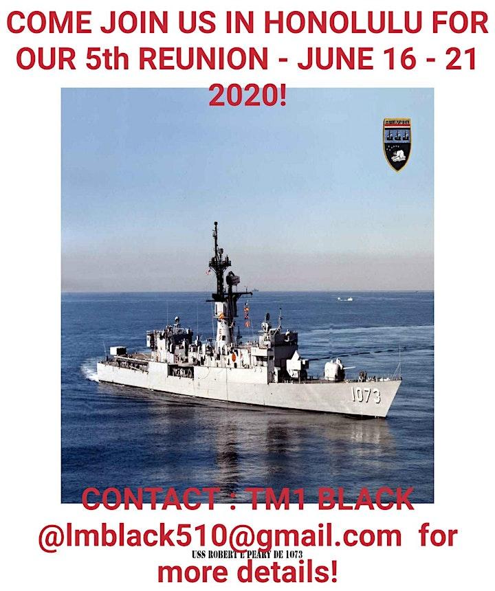 USS Robert E. Peary  2020 Aloha Reunion image