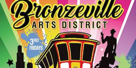 Bronzeville Art District 3rd Friday Trolley Tour June to September, 2019 tickets