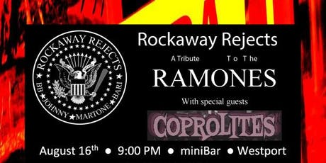Rockaway Rejects : Ramones Tribute with Coprolites @ miniBar tickets