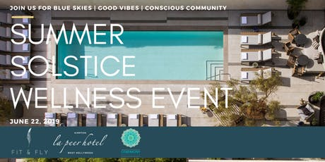 Rooftop Yoga + Sound Bath for Summer Solstice | Fit & Fly x Ceremony Meditation tickets