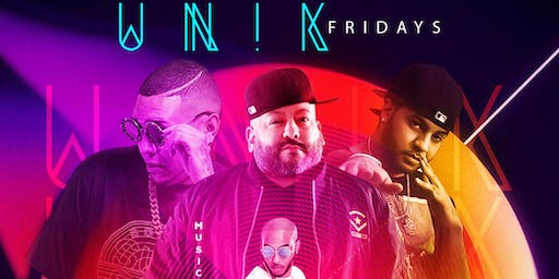 """UNIK FRIDAYS"" at FUSION LOUNGE ""Ladies Drink FREE til Midnight"""