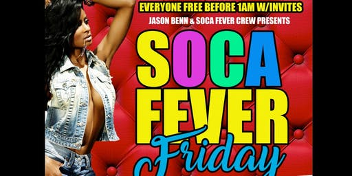 JUNE 21ST! SOCA FEVER FRIDAY @ TRENDZ LOUNGE
