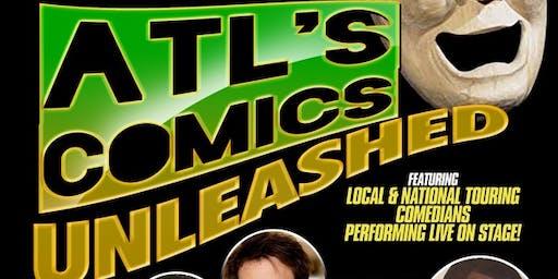 ATL's Comics Unleashed @ Suite Lounge
