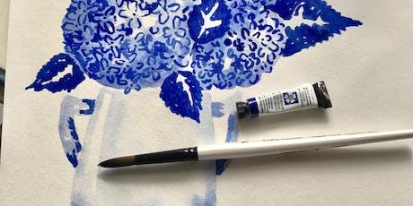 watercolor essentials {with debi vincent} tickets