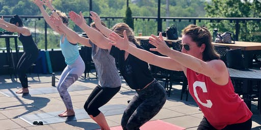 Brunch-Time Patio Yoga - [Bottoms Up! Yoga & Brew]