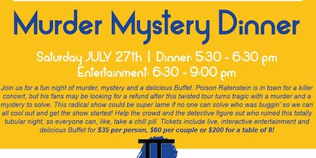 Murder Mystery Dinner at The Forum!  tickets