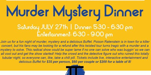 Murder Mystery Dinner at The Forum!