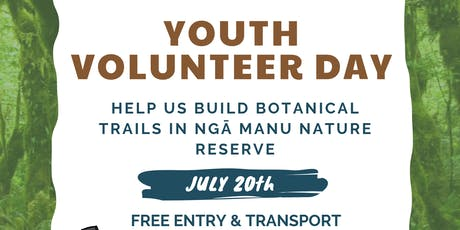 Ngā Manu Nature Reserve - Youth Volunteer Day tickets