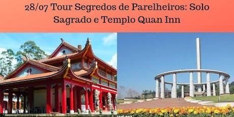 Segredos de Parelheiros: Solo Sagrado e Templo Quan Inn ingressos