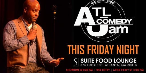 ATL Comedy Jam @ Suite Lounge