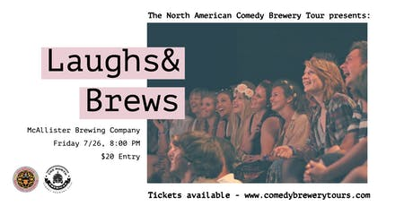 The North American Comedy Brewery Tour at McAllister Brewing Company tickets
