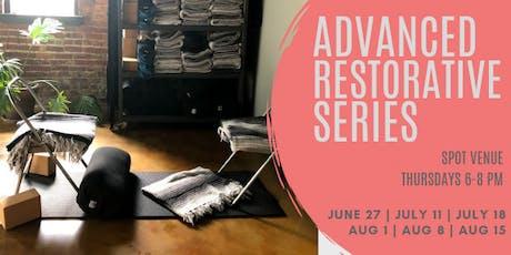 Advanced Restorative Series: Drop In Options tickets