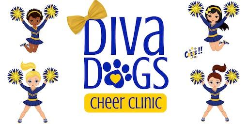 Diva Dogs Cheer Clinic | 3rd - 6th Grade