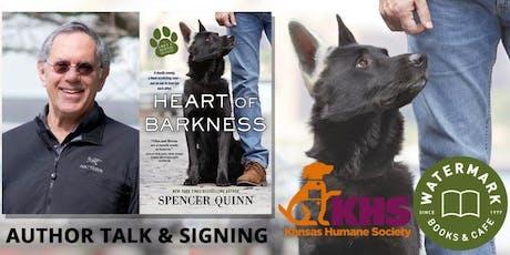 Spencer Quinn Author Talk & Signing tickets