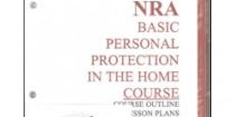 NRA Instructor Basic Personal Protection In The Home Course tickets