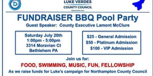 Luke Verdes Campaign Fundraiser BBQ