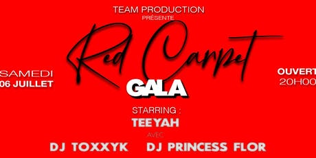 Red Carpet Gala  billets