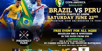Brazil Vs Peru Game & Party