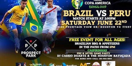Brazil Vs Peru Game & Party tickets