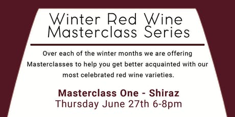 Winter Red Wine Masterclass Series tickets