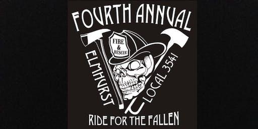Elmhurst Firefighters Ride For The Fallen